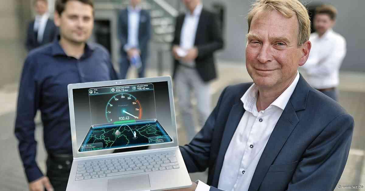 Glasfaserausbau in Haan: 785 Adressen sollen ans schnelle Internet - Westdeutsche Zeitung