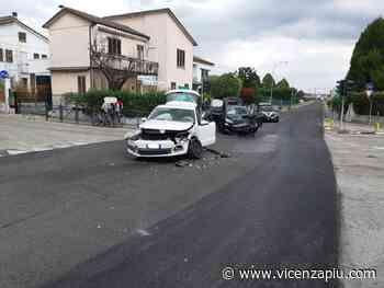 Dueville, violento scontro tra due veicoli, fortunatamente nessun ferito - Vicenza Più