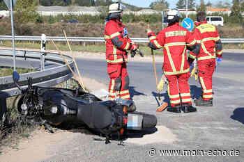 Motorradfahrer und Sozia nach Unfall in Elsenfeld leicht verletzt - Main-Echo
