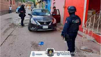 Recuperan un vehículo en la ciudad de Tlapa de Comonfort, en la región de La Montaña. | La Roja Guerrero - Enfoque Informativo