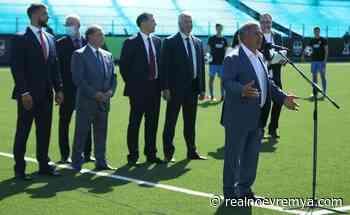 Neftekhimik stadium opened in Nizhnekamsk — RealnoeVremya.com - Realnoe vremya