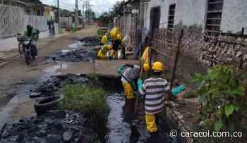 Cardique inició limpieza del Canal Maravilla en Olaya Herrera - Caracol Radio