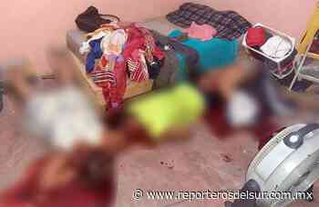 Regresan las ejecuciones: asesinan a tres en Tenosique, entre ellos una mujer; van seis en dos días - Reporteros del Sur