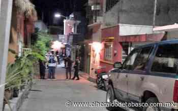 Sangrienta noche en Tenosique; ejecutan a tres - El Heraldo de Tabasco