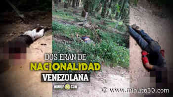 VIDEO. Tres hombres fueron acribillados a tiros cuando se movilizaban por Simití, sur de Bolívar - Minuto30.com