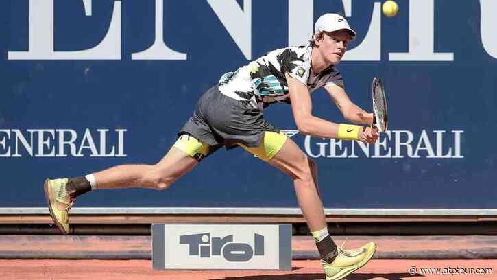 Jannik Sinner Makes Quick Transition, Downs Philipp Kohlschreiber In Kitzbühel - ATP Tour
