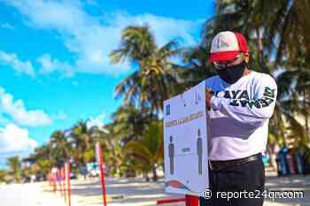Abren playas de Isla Mujeres bajo estrictos protocolos sanitarios - Reporte 24 Quintana Roo