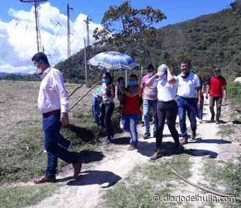 Más de 25 familias en zona rural de Nátaga, fueron beneficiadas con placa huella - Diario del Huila