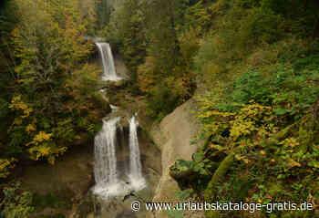 Scheidegger Wasserfälle - Naturgeotop | Scheidegg, Allgäu - Urlaubskataloge-gratis