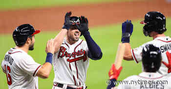 The Braves Scored 29 Runs. Their Player of the Game? Everyone.