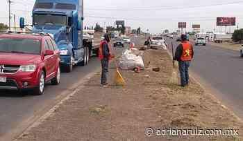 #Cuauhtemoc | Intensifican programa de limpieza de vialidades en la ciudad - Adriana Ruiz