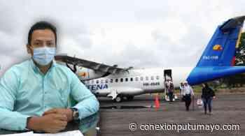 Alcaldía solicitará reapertura del aeropuerto Cananguchal, de Villagarzón - Conexión Putumayo