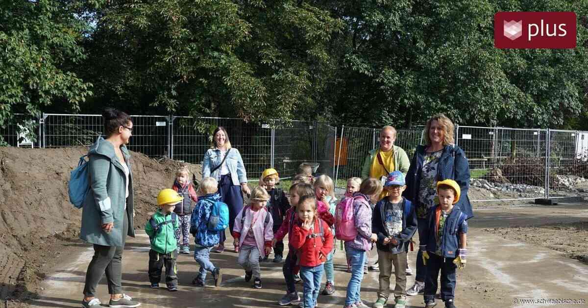 Meckenbeuren: Startschuss für den neuen Kindergarten - Schwäbische