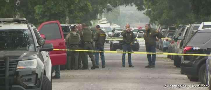 Man Shot, Killed By LA Deputies During Barricade At Compton Home