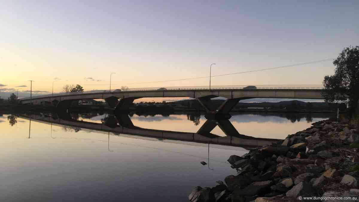 Changed traffic conditions on Fitzgerald Bridge at Raymond Terrace - Dungog Chronicle