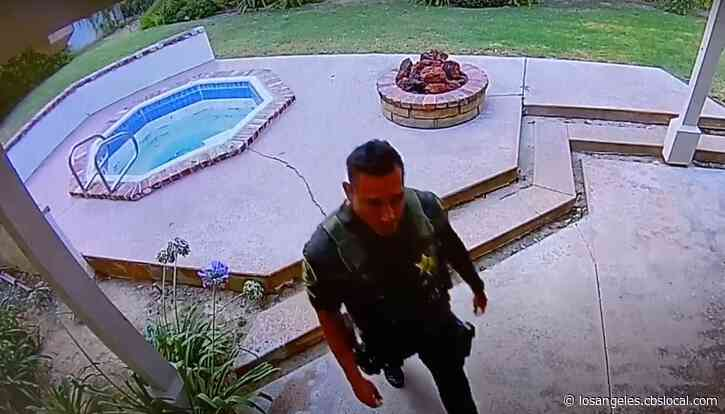 OC Deputy Arrested On Suspicion Of Burglary After Items Stolen From Home Of Deceased Man