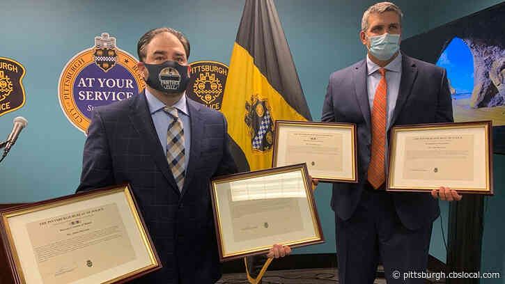 Good Samaritans Who Rescued 90-Year-Old Man From Flooding Honored By Pittsburgh Police