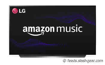 LG smart TVs are getting an Amazon Music app
