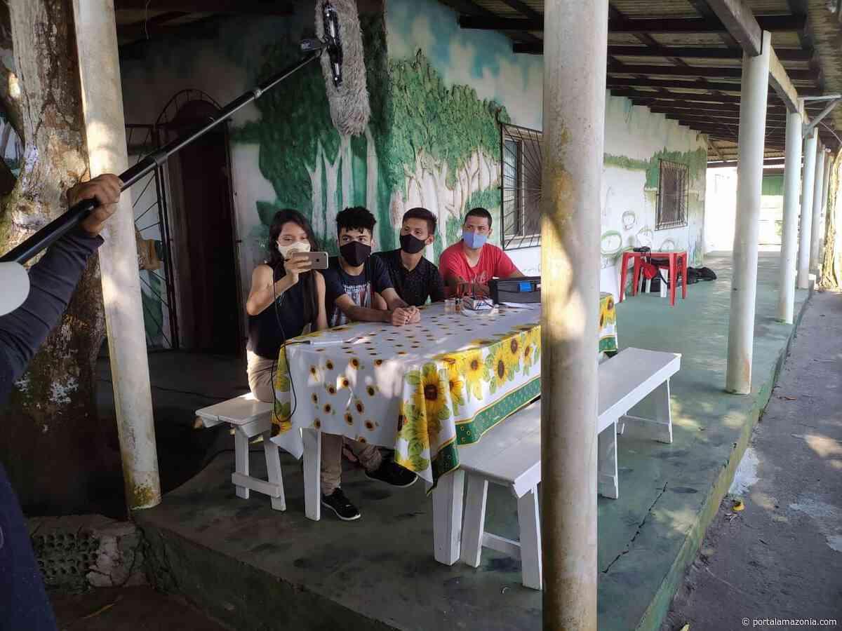 Projeto sustentável de alunos do SESI Itacoatiara é destaque em programa de televisão - Portal Amazônia