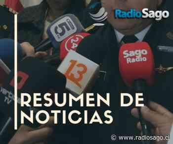 Resumen de noticias jueves 10 de septiembre 2020 #SagoRegión - Radio Sago