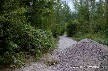 Heraanleg van bospaden met steengruis stuit op felle kritiek, Natuur en Bos vraagt wandelaars even geduld te oefenen<BR />