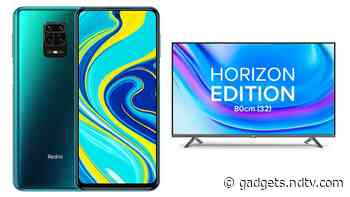 Redmi Note 9 Pro, Mi TV 4A Horizon Edition (32-Inch) to Go on Sale Today at 12 Noon: Price, Specifications