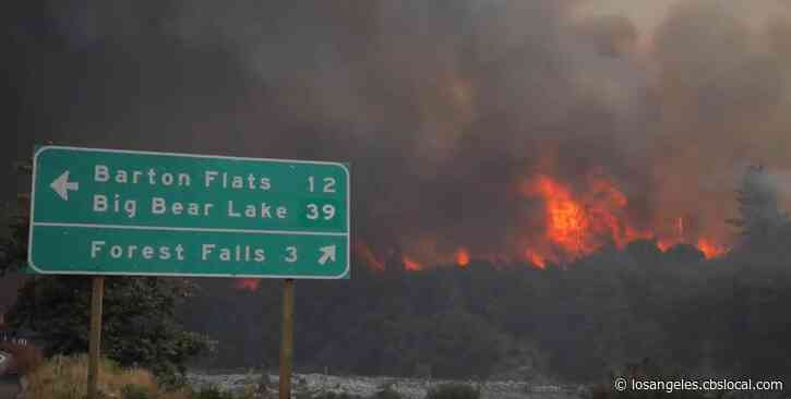 El Dorado Fire In Yucaipa: 13,000+ Acres Burned, 31% Contained As Of Thursday