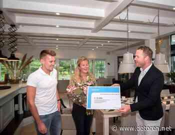 Honderdste voucher uitgereikt aan recreatieondernemer Stegeren - De Toren