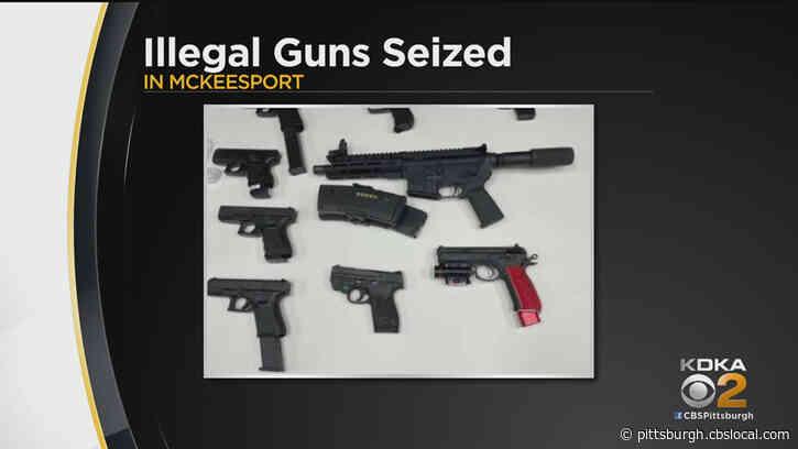 Task Force Seizes Illegal Guns In McKeesport