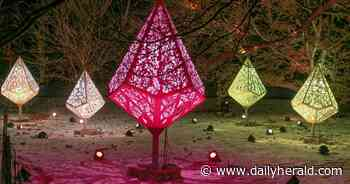 This year, see Morton Arboretum holiday lights from your car