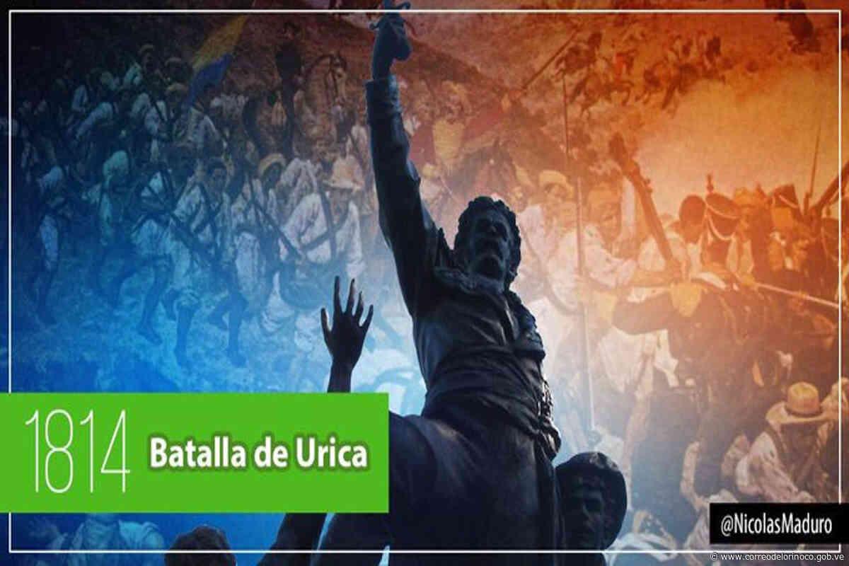 Hoy se cumplen 205 años de la Batalla de Urica | - Correo del Orinoco