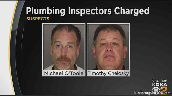 Two Allegheny County Plumbing Inspectors Charged With Tampering With Records