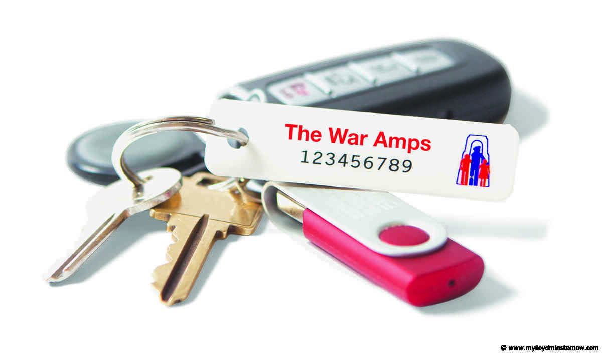 War Amps sending out key tags to Alberta residents - My Lloydminster Now