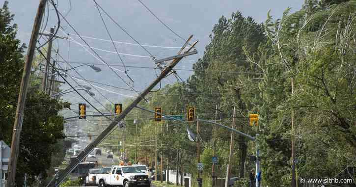 44,000 remain without power after Utah windstorm. Salt Lake City schools are still closed.