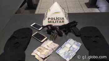 Polícia prende rapaz com mandado de prisão e apreende revólver em Pitangui - G1