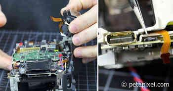 Lensrentals Breaks Open the EOS R5, Finds Exceptional Weather Sealing - PetaPixel