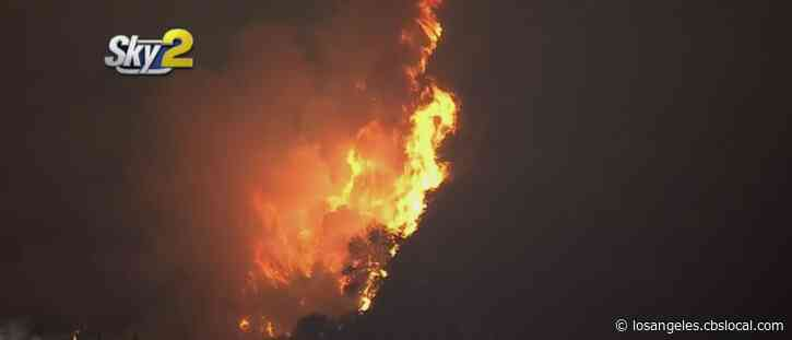 San Gabriel Foothill Communities Still At Risk As Bobcat Fire Rages Friday