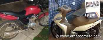 Motocicletas recuperadas em Rondonópolis e Campo Novo do Parecis - O Mato Grosso