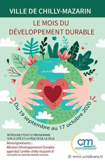 Le mois du développement durable par la mairie de Chilly-Mazarin Chilly-Mazarin samedi 19 septembre 2020 - Unidivers