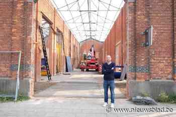 Sinds vertrek Tupperware in 2007 stond oude textielfabriek leeg, nu wordt laatste loods designtoonzaal
