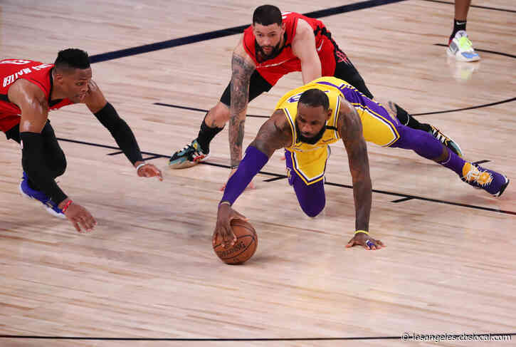 Lakers Dominate Rockets, Take Commanding 3-1 Series Lead