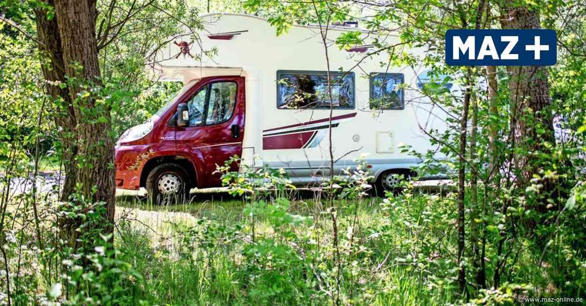 Politiker in Kloster Lehnin fürchten Umweltsünden durch Camper - Märkische Allgemeine Zeitung