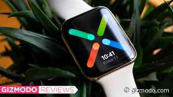 I'm Mad This Obvious Apple Watch Clone Is Actually a Good Wear OS Watch