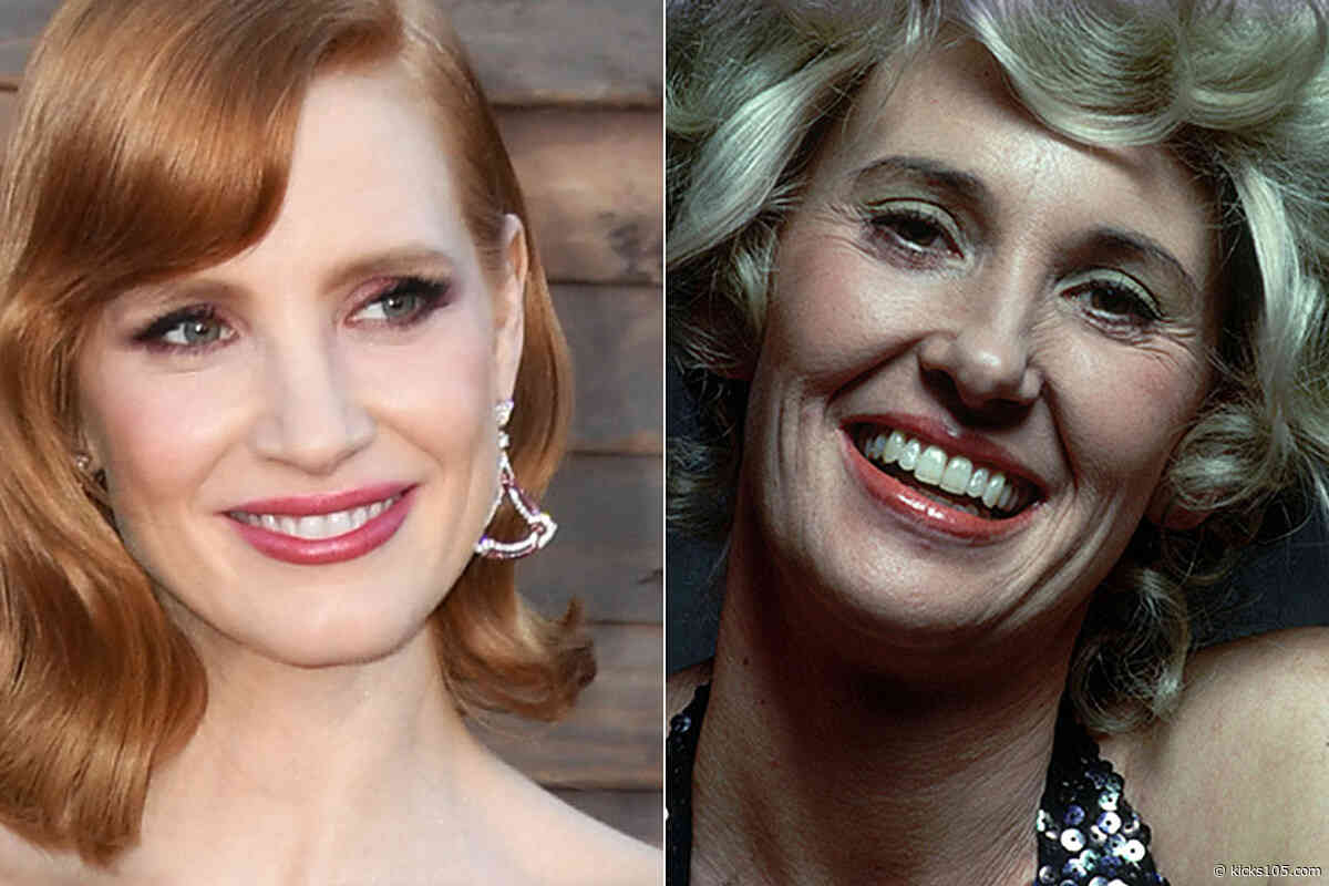 Jessica Chastain Starring as Tammy Wynette in Upcoming TV Series - kicks105.com
