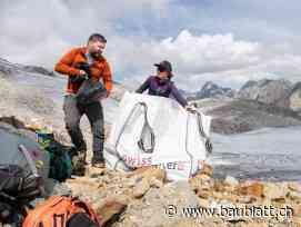 Archäologen bergen hochalpinen Steinzeitfund am Oberalpstock - Baublatt