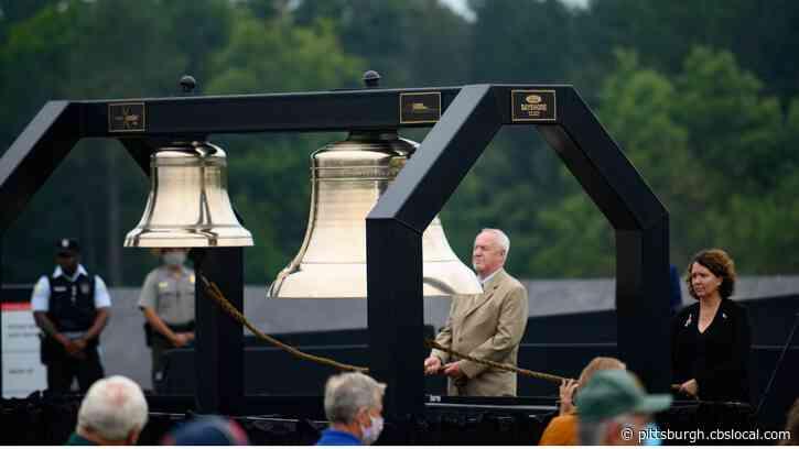9/11 Remembered: President Trump, Former VP Biden Visit Flight 93 Memorial In Shanksville On 19th Anniversary