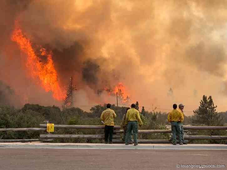 4 Homes Destroyed In El Dorado Fire, 11,000 Structures Still Threatened