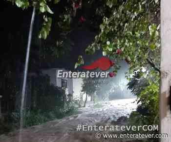 Por lluvias localidades de Carrizal y Adolfo Ruiz Cortines en Papantla sufren afectaciones - Enteratever