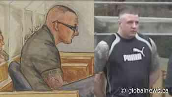Jamie Bacon learning sentencing in B.C. gangland massacre