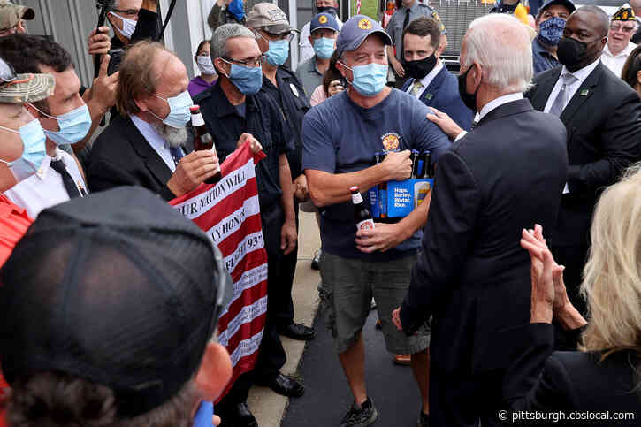 Joe Biden Follows Through On Promise, Delivers Beer To Firefighters In Shanksville